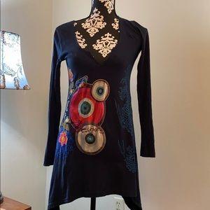 Black Knit Tnic